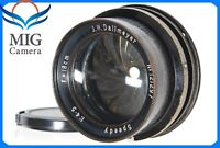 Rare!!【Excellent++】Dallmeyer Speedy F4.5 18cm Lens From Japan 455