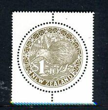 2000 New Zealand - Gold Round Kiwi MUH $1.10 Stamp