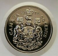 1978 CANADA FIFTY CENT ($.50) SPECIMEN COIN ~ UNCIRCULATED ~
