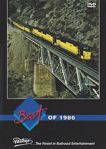 Best of 1986 DVD CN CP SF SP Steam Expo Highlights Railroad Pentrex NEW!