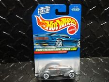 2000 Hot Wheels Treasure Hunt #51 Silver '36 Cord w/Whitewall RR's Silver Fender