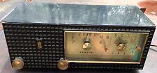 Vintage Zenith Clock Radio Model A 519Y