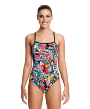 Funkita Ladies 16 Heads of State Single Strap One Piece Swimsuit