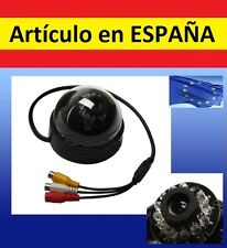 """CAMARA SEGURIDAD color VISION NOCTURNA 1/4"""" CMOS 380TVL IR CCTV video infrarrojo"""