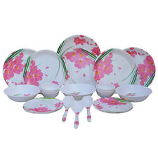 Melamine Dinner Set Czar 24 PIC Dinner set 1006 Pink Color , Free Shipping