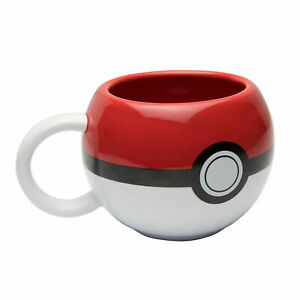 OFFICIAL POKEMON POKEBALL 3D COFFEE MUG CUP NEW IN GIFT BOX GB *