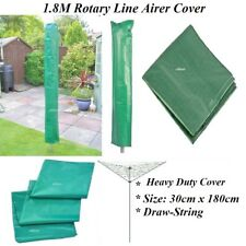1.8m ROTARY WASHING LINE COVER CLOTHES LONG HEAVY DUTY MATERIAL DRAW STRING NEW