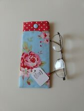 Glasses case/ pouch Handmade in Cath Kidston fabric. Lovely Gift. New