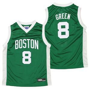 Outerstuff NBA Youth (4-18) Boston Celtics Jeff Green #8 Player Jersey