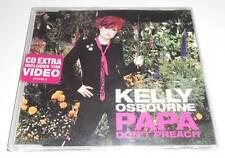 KELLY OSBOURNE - PAPA DON'T PREACH - 2002 UK ENHANCED CD SINGLE