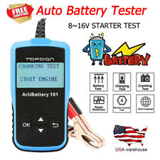 Car Battery Load Tester 12V 100-2000 CCA Automotive Bad Cell Test Tool Analyzer