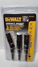 "Dewalt Impact Ready Magnetic Pivoting Nut Driver Set 3 Piece 1/4""Shank DWPVTDRV3"
