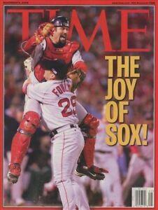 Time Magazine November 8, 2004 Baseball World Series Champions BOSTON RED SOX