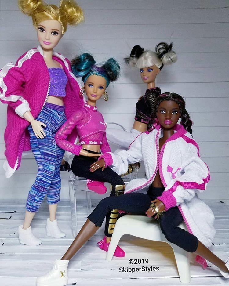 NEW BLUE LOVE MESH CROP TOP SHIRT BARBIE FASHIONISTAS FASHION CLOTHES PETITE