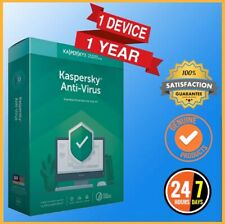 Kaspersky Antivirus 2019 Antivirus 1 PC Device 1 Year - Global Version
