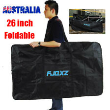 AU 26 inch Foldable Bicycle Bike Travel Bag Case Sack Transport Thick 1680D Box