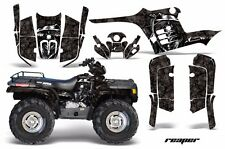 AMR Racing ATV Graphic Kit Polaris Sportsman 500 Decal Sticker 95-04 REAPER BLK