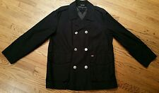 Tommy Hilfiger Limited Issue Field Jacket Coat Men Medium sailing double-breast