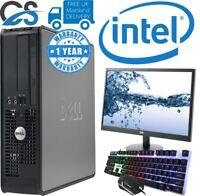 DELL DUAL CORE OPTIPLEX COMPUTER TOWER DESKTOP PC 4GB RAM 320GB HDD WINDOWS 10