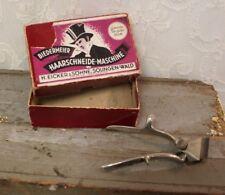 Vintage Biedermeier No 26 Handheld Barber Clippers In Original Box