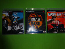 Empty Replacement Cases! Road Rash + Jailbreak + 3D Trilogy PS1 PS2 PS3