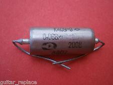 Condensador 0.068 uF 200V Capacitor Aceite Paper In Oil PIO NOS