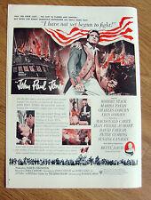 1959 Movie Ad John Paul Jones Robert Stack Marisa Pavan Charles Coburn O'Brient