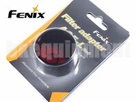 Fenix AOF-L Red Lens Filter Cap Diffuser E40 E50 LD41 TK22 RC15 Flashlight