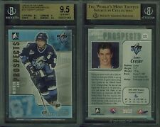 2004-05 ITG Heroes And Prospects #222 SIDNEY CROSBY BGS 9.5 (9.5, 9, 9.5, 9.5)