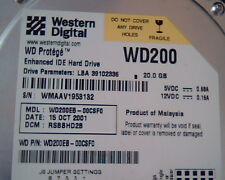 Hard Drive IDE Western Digital Protege WD200 WD200EB-00CSF0 2060-001100-001