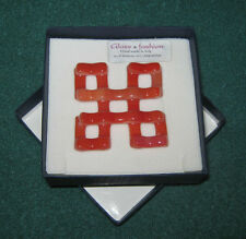 "Bigiotteria/Donna""WOMAN PENDANT GLASS & FASHION""Ciondolo Anni ' 90/Con Scatola"