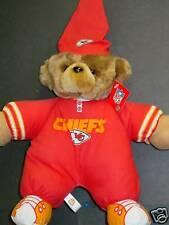 NFL Pajama Teddybear, Kansas City Chiefs, NEW