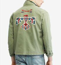 Polo Ralph Lauren Military USA Army Southwestern Aztec Indian Camp Shirts Jacket