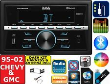 95-02 GM TRUCK/SUV BLUETOOTH CAR RADIO STEREO USB AUX PACKAGE