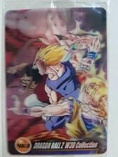 Carte Dragon Ball Z DBZ Morinaga Wafer Card Part 08 #463 3D MADE IN JAPAN