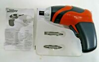 Tiger Driver 6V Battery Operated Screwdriver with 2 Bits NEW