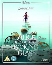 ALICE THROUGH THE LOOKING GLASS Johnny Depp BLURAY Disney Limited Inglese NEW.cp