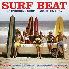Surf Beat VARIOUS ARTISTS Best Of 40 Songs SURF ROCK CLASSICS New Sealed 2 CD
