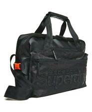 BNWT Superdry Mens Freeloader Laptop Bag, Black