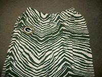 ZUBAZ Pants L Large Green Bay Packers NFL Inseam: 31.5 Lounge Sleep Green White