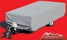 ADCO CONTOUR-FIT POP UP FOLDING TRAILER RV COVER FITS 8' TO 10' MODEL 2891