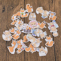 Animal Emotion Kawaii Fox Stickers Scrapbooking Diary Stickers DIY for Uisex