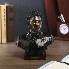 Alexander Pushkin Colored Bust Sculpture Collectible Figurine Александр Пушкин