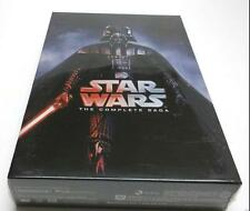 2017 Star Wars: The Complete Saga DVD (I,II,III,IV, V, VI, 12-Disc Box Set 1-6)