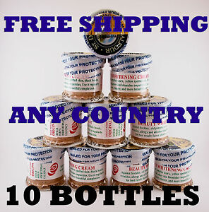 Authentic St. Dalfour Whitening Cream (10 BOTTLES)- FREE AND FAST SHIPPING