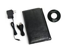 "Augen EBA701 7"" 2GB Color EBOOK eReader Text-to-Speech Wi-Fi MP4 LEATHER CASE"