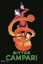 """Leonetto Cappiello art poster 24x36"""" Bitter Campari"""