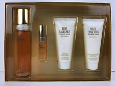 WHITE DIAMONDS Perfume Elizabeth Taylor GIFT SET 3.4 OZ + B/L +S/GEL MINI NIB