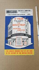 E856/ Plakatsammlung aus England Circus und Theater original aus den 60er Jahren