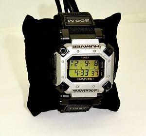 WORKING c1998 TIMEX HUMVEE MULTI FUNCTION INDIGLO 200M DIGITAL WATCH,EXCELLENT